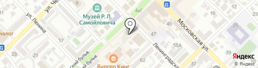Счастливчик на карте Азова
