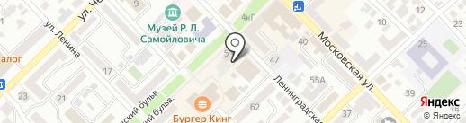 Золотой Путь на карте Азова