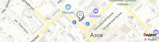 Здоровье на карте Азова