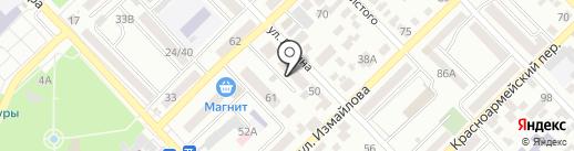 Адвокатский кабинет Каменева С.Н. на карте Азова