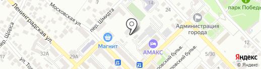 Управляющая компания Азов на карте Азова
