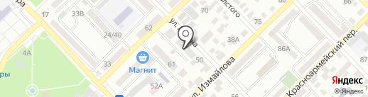 Бигуди на карте Азова