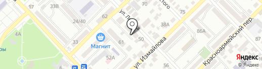 Новый Век на карте Азова