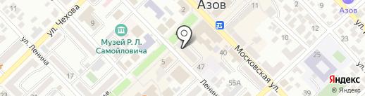 Ростовкнига на карте Азова