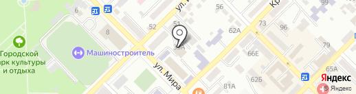 Управление Федеральной службы государственной регистрации, кадастра и картографии по Ростовской области на карте Азова