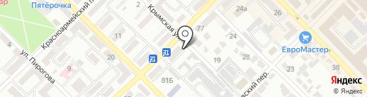 Релакс на карте Азова