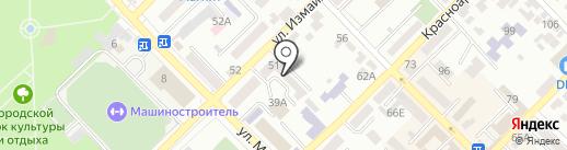 Дон Вояж на карте Азова