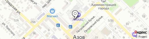 Академия Фитнеса на карте Азова