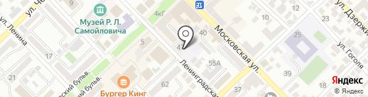 Детский сад №1 на карте Азова