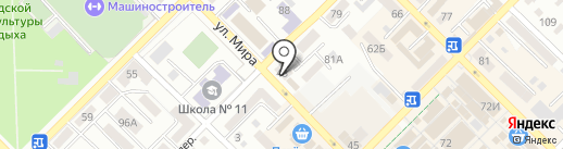 Сеть аптек на карте Азова