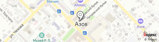 Добрый ден на карте Азова