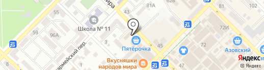 Поколение на карте Азова