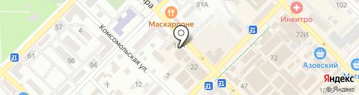 Пышка на карте Азова