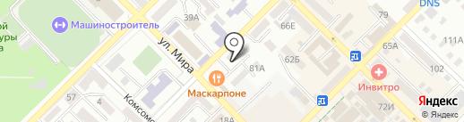 Букет желаний на карте Азова