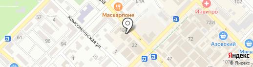 Хамелеон на карте Азова