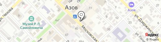 Центр технической инвентаризации на карте Азова