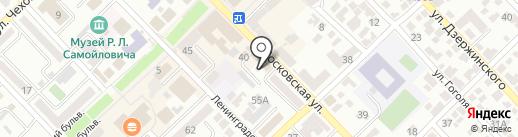 Отдел вневедомственной охраны на карте Азова
