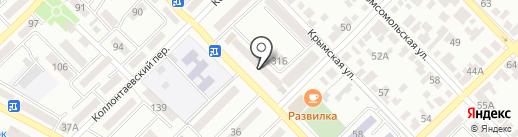 Дон-пресс, ТСЖ на карте Азова