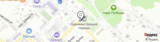 Магазин автозапчастей для иномарок на карте Азова