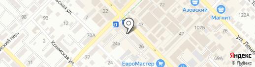 Walrus на карте Азова