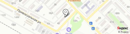 Библиотека им. А.С. Пушкина на карте Азова