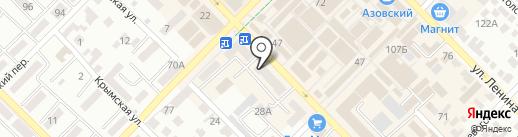 Центр денежной помощи на карте Азова