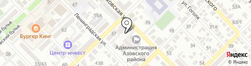 Аптека №28 на карте Азова