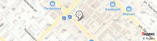 Мясная лавка на карте Азова