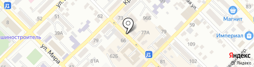 ESTET на карте Азова