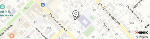 Азовчанка, ТСЖ на карте Азова