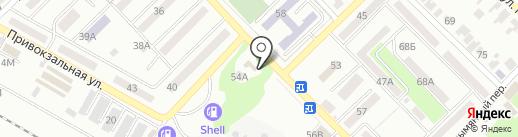 DM на карте Азова
