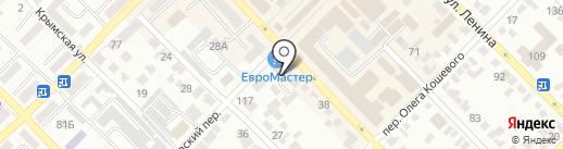 Белая Роза на карте Азова