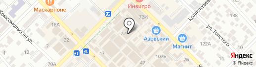 1000 мелочей на карте Азова