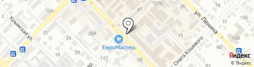 Евротекс на карте Азова