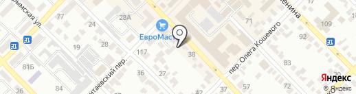 Двери и К на карте Азова