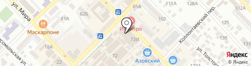 The GOLD на карте Азова