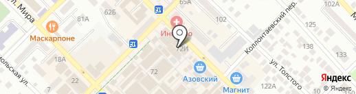 Мегафон на карте Азова