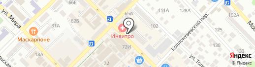Азовский городской ломбард на карте Азова