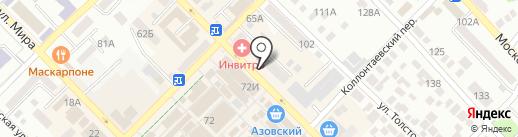 Юлмарт на карте Азова