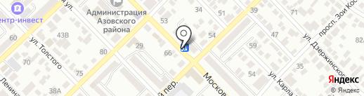 Созвездие на карте Азова