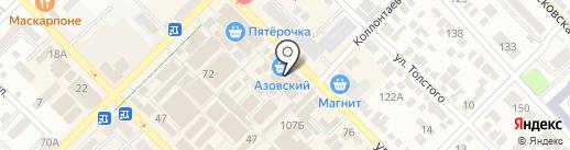 Элемент на карте Азова