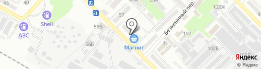 Прасковейский хуторок на карте Азова