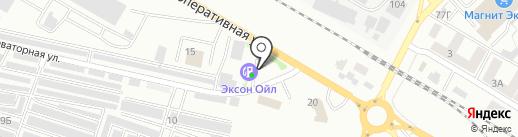 АЗС Эксон-Ойл на карте Азова