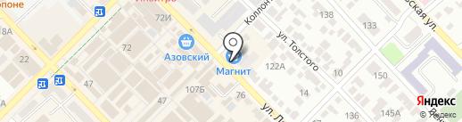 Восторг на карте Азова