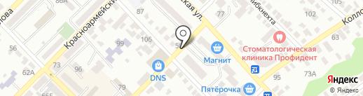 Кругосвет на карте Азова