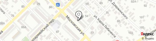 Информационно-вычислительный центр ЖКХ г. Азова на карте Азова