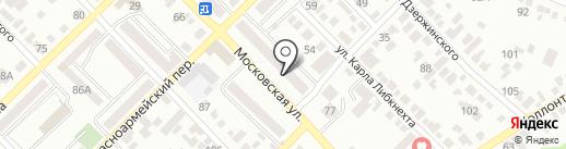 Эпатаж на карте Азова