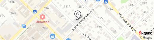 Ламоджа на карте Азова