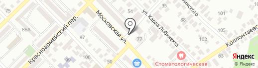 Банкомат, КБ Центр-инвест, ПАО на карте Азова