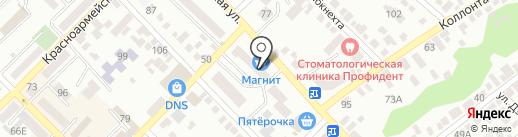 Взор на карте Азова